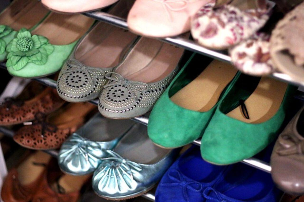 Modna szafka na buty